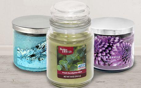 Výběr svíček a vonných vosků do aromalampy