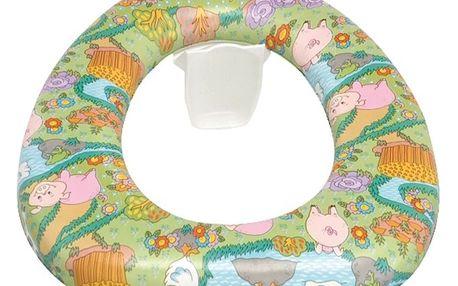 Měkké dětské přídavné WC sedátko Wenko Baby Soft