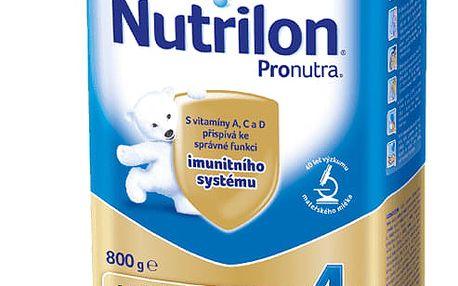 3x NUTRILON 4 ProNutra (800g) - kojenecké mléko