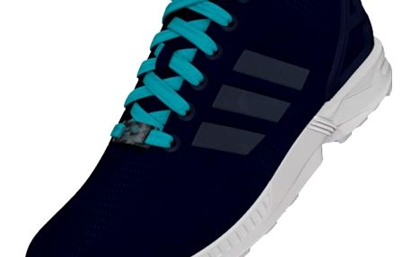 Boty Adidas ZX Flux W night indigo-night indigo-blue glow s16 39 1/3