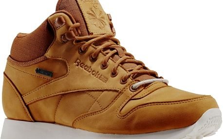 Boty Reebok Classic Leather Mid Goretex brown malt-paperwhite-beach stone 43