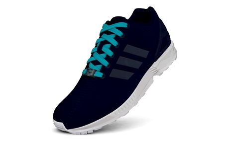 Boty Adidas ZX Flux W night indigo-night indigo-blue glow s16 40