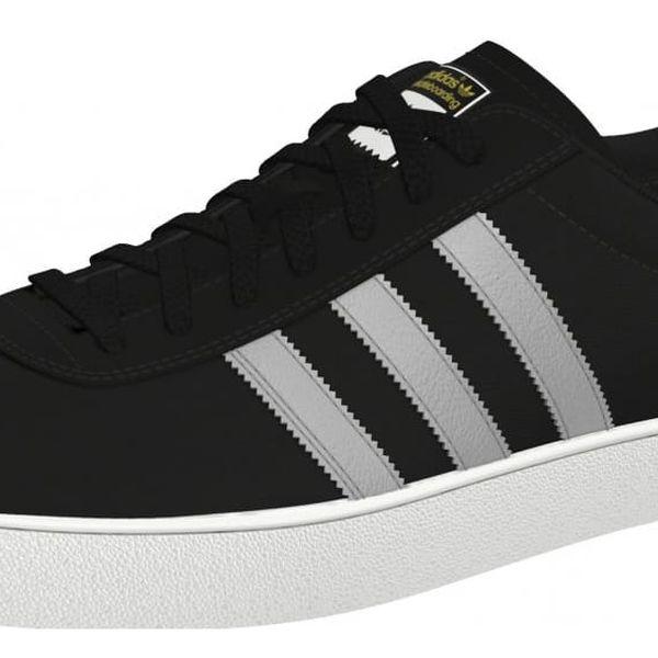 Boty Adidas Skate ADV black-silver-white 41 1/3