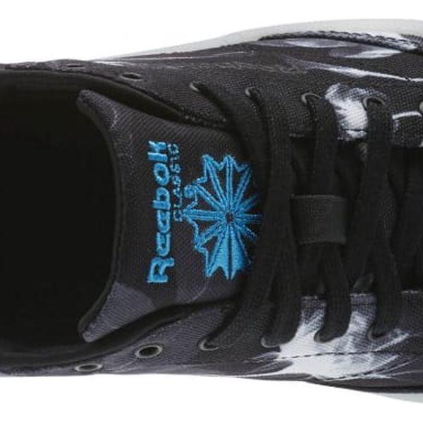 Boty Reebok Club C 85 Xray black-white-wild blue 373