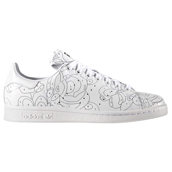 Boty Adidas Stan Smith RO W white-white-black 37 1/3