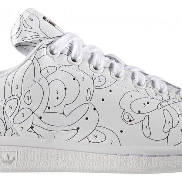 Boty Adidas Stan Smith RO W white-white-black 39 1/3