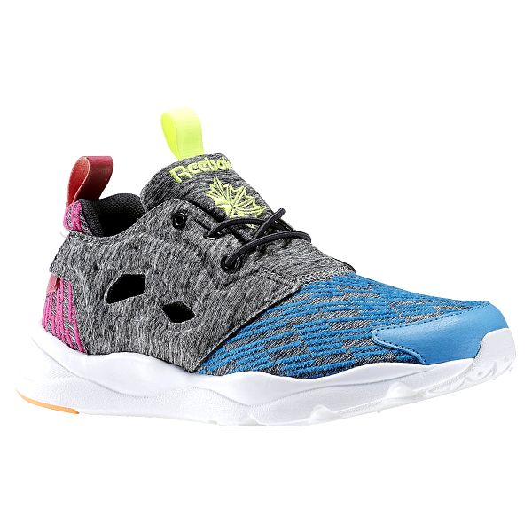 Boty Reebok Furylite Contemporary blue-coal-pink-yllw 39