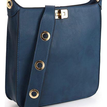 Dámská námořnicky modrá kabelka Vera 566