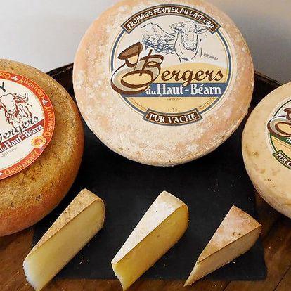 Farmářské sýry z Pyrenejí: ovčí, kozí či kravský