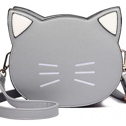 Dámská šedá kabelka Cat 6702