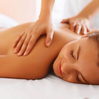 Masážní terapie pro uvolnění všech blokád