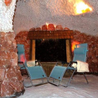 Léčivá solná jeskyně: 1× vstup či permanentka