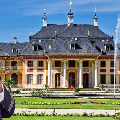 Plavba lodí k německému zámku Pillnitz