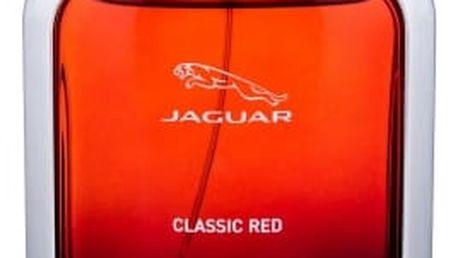 Jaguar Classic Red 100 ml toaletní voda tester pro muže