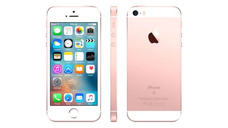 Mobilní telefon Apple iPhone SE 32 GB - Rose Gold (MP852CS/A) + DOPRAVA ZDARMA