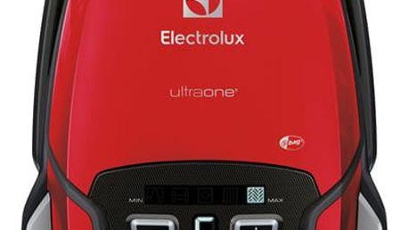 Vysavač podlahový Electrolux UltraOne EUO9ANIMAL červený