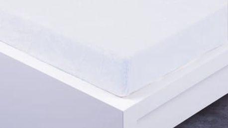 XPOSE ® Prostěradlo mikroflanel Exclusive dvoulůžko - bílá 180x200 cm