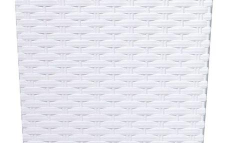 Prosperplast Obal RATO SQUARE bílý 17x17x32,4cm