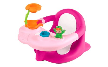 SMOBY Cotoons sedátko do vany – růžová
