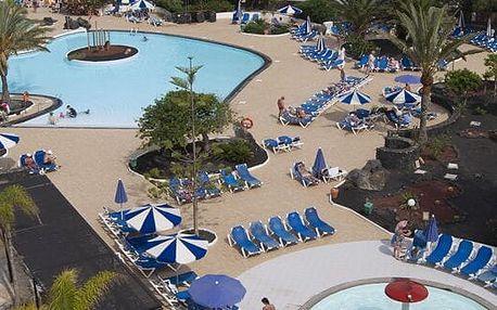 Kanárské ostrovy - Lanzarote na 8 dní, all inclusive nebo polopenze s dopravou letecky z Prahy