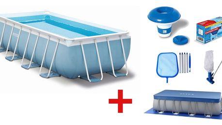 Marimex | Bazén Florida Premium 2,00 x 4,00 x 1,00 m s kartušovou filtrací a příslušenstvím | 19900040