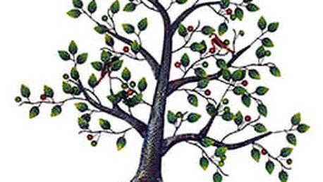 Kovový strom na zeď