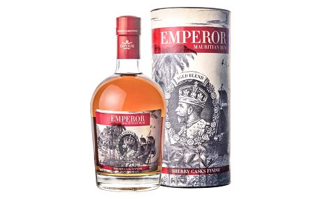 Emperor Rum Sherry Casks Finish 0,7l 40% Dárkové balení