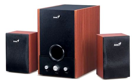 GENIUS Speaker SW-HF2.1 1700 45W wood,230V