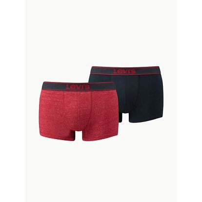 Boxerky LEVI'S 200Sf Vintage Heather Trunk 2 Pack Barevná