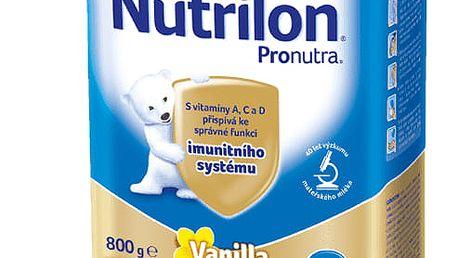 6x NUTRILON 3 ProNutra s příchutí vanilky (800g) - kojenecké mléko