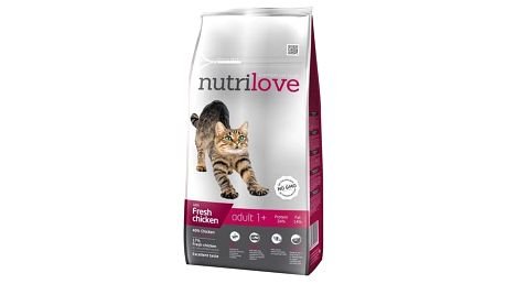 Nutrilove Cat dry Adult fresh chicken 8kg