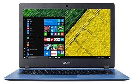 Notebook Acer 1 (A114-31-C25P) + Office 365 Personal na rok zdarma (NX.GQ9EC.001) modrý Software F-Secure SAFE, 3 zařízení / 6 měsíců + Monitorovací software Pinya Guard - licence na 6 měsíců v hodnotě 979 Kč + DOPRAVA ZDARMA