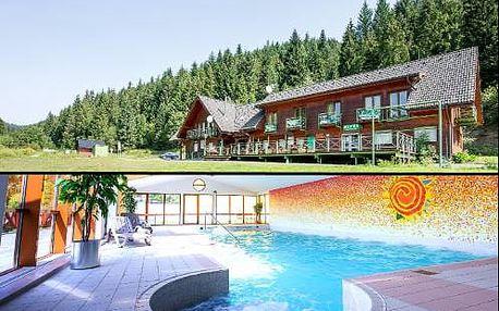 Neomezený wellness pobyt lázeňské Vyšné Ružbachy v kouzelném resortu s bazénem