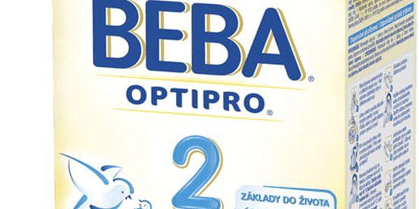 6x NESTLÉ BEBA 2 OPTIPRO (600 g) - kojenecké mléko