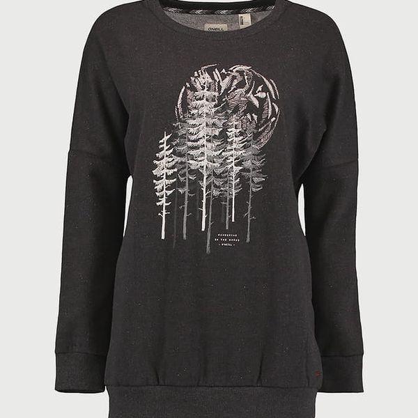 Mikina O´Neill LW Peaceful Pines Sweatshirt Černá