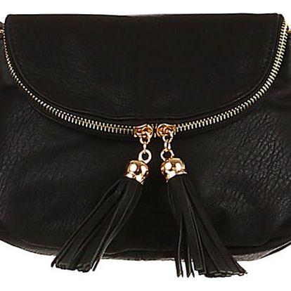 Mini kabelka přes rameno černá
