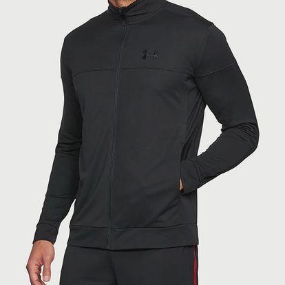 Mikina Under Armour Sportstyle Pique Jacket Černá