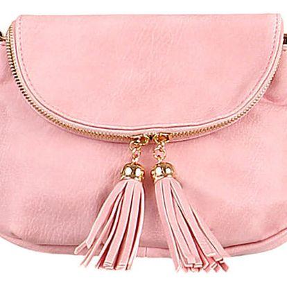 Mini kabelka přes rameno růžová