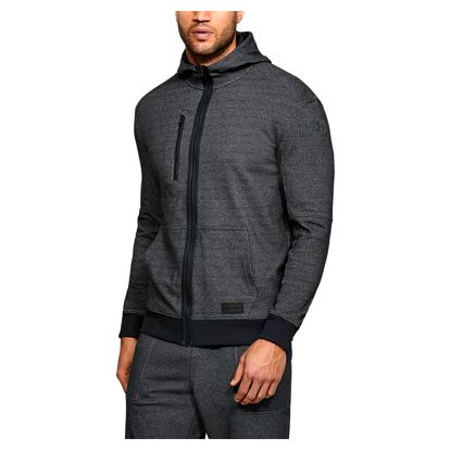 Mikina Under Armour Pursuit Full Zip Hoody Šedá