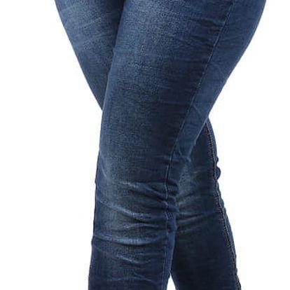Dámské džíny - i pro plnoštíhlé modrá