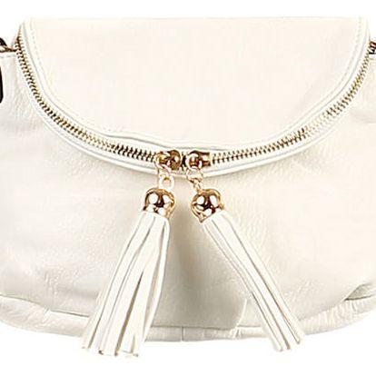 Mini kabelka přes rameno bílá