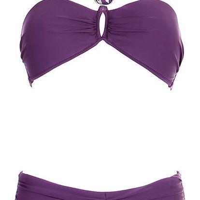 Dámské fialové dvoudílné plavky - II.jakost fialová