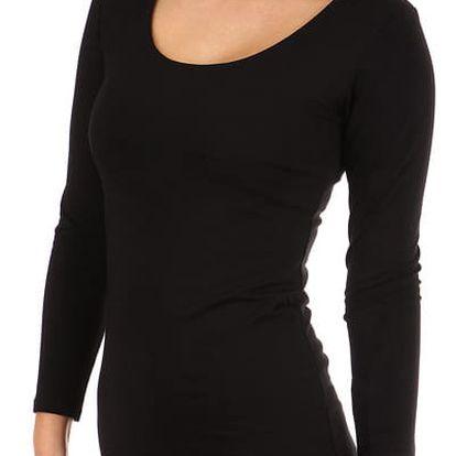 Dámské přiléhavé šaty černá