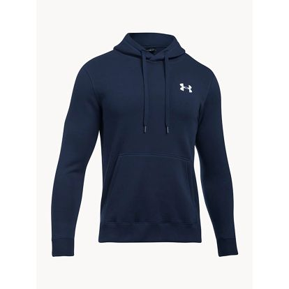Mikina Under Armour Rival Fitted Pull Over Modrá
