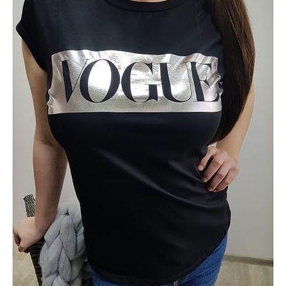Dámské tričko s potiskem Vogue