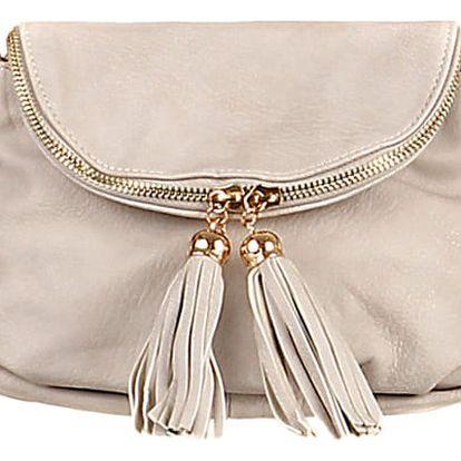 Mini kabelka přes rameno šedá
