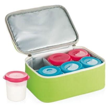 TESCOMA jogurtovač BAMBINI, 6 dóz s termobrašnou