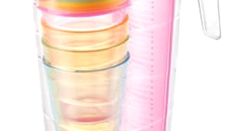 TESCOMA džbán myDRINK 2.5 l, 4 poháry s víčkem