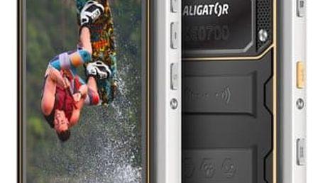 Mobilní telefon Aligator RX550 eXtremo Dual SIM (ARX550BY) černý/žlutý Software F-Secure SAFE, 3 zařízení / 6 měsíců v hodnotě 979 Kč + DOPRAVA ZDARMA
