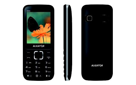 Aligator D930 Dual SIM (AD930BS) černý/stříbrný